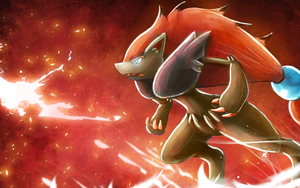 Zoroark Wallpaper by Deruuyo