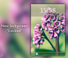 locked lockscreen by de-rogh