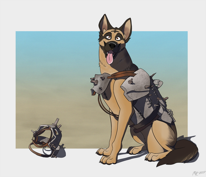 Dogmeat by MightyRaptor