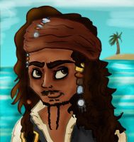 Jack Sparrow by Ionday