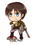 Eren chibi by Evolvana
