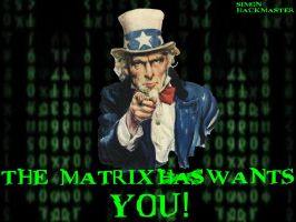 The Matrix Want's YOU by Simon-HackMaster