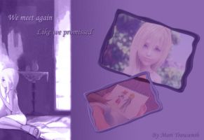 Namine's Wallpaper by Amai-Namine