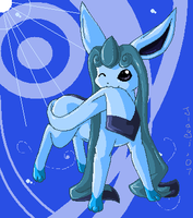 Mspaint Glaceon by Jiayi