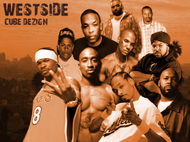 Westside Rap Wallpaper by CUBE-DEZIGN