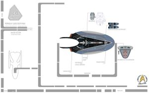 USS PERSEUS - Saucer Section by LillithsBernard