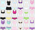 EqG Dress Up - preview (underwear) by Liggliluff