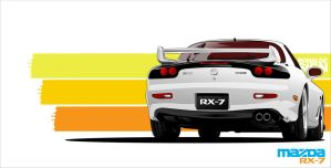 Mazda Rx 7 by ronaldesign