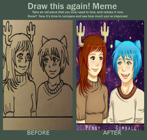 Meme Before and After. by LishaMerican