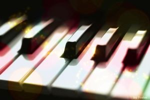 A colorfull piano by foster098