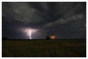 Oklahoma Lightning 001 by aaronbee