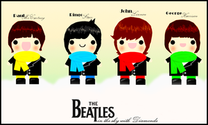 THE BEATLES - in the sky. by i-gomes