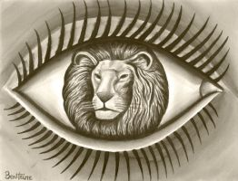 The Lion in Me by BenHeine