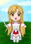 Chibi Asuna - Sword Art Online - MTG Token by Dark-and-One-Other