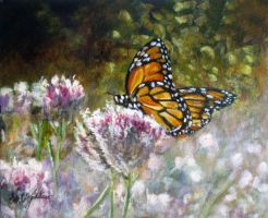 Monarch Garden by Ravenhaven