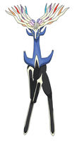Xerneas ~ Prince of Kalos by werewolf-dragon