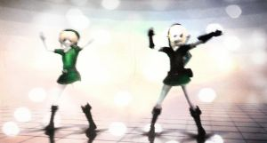 BEN Drowned and Link Partying! by KatelynFrye