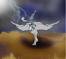 storm chasingWIP by finnicky-dragon