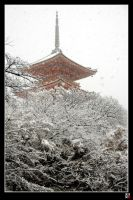 Pagodas in Snow IV by tensai-riot