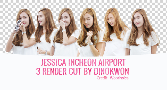 150712 Jessica  Incheon Airport by dinokwon