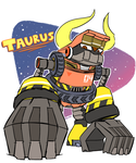 Mighty No. 4 Taurus by kenshinmeowth