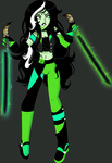 .:.The Emerald Wasp.:. by flaredrake20