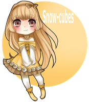 Chibi PC: Snow-cubes by Yunisaki