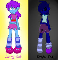 Living/death Tod by Rebecca-doodles