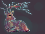 Ethereal Deer by Riivka