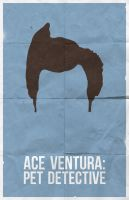 Ace Ventura: Pet Detective poster - MSCE Day 151 by billpyle
