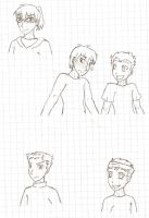 AtLA: Fanfic Doodles by DarthAnimus