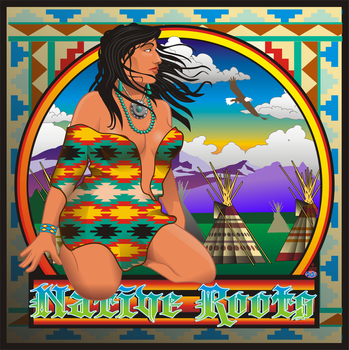 Native Beauty poster by godzillasmash