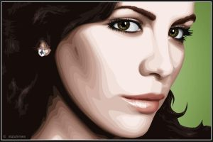 Kate Beckinsale -vectorized-v2 by xluluhimex