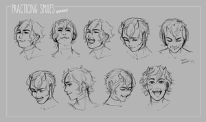 Smiles Practice by oshRED
