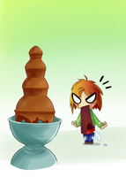 fontaine a chocolat by denfound