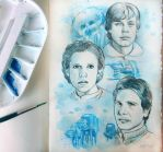 ESB sketchbook page by barbaramj