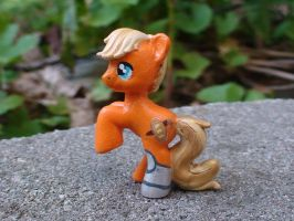 Hunger Games: Peeta Mellark Pony by Vampasaurus