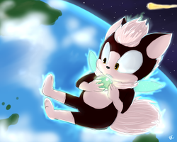 One Hour Sonic: CHIP by Mitzy-Chan