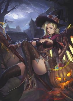 Halloween Mercy by phamoz