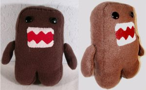 Domokun Plush by chronicdoodler
