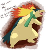 Typhlosion: 2nd Favorite Fire Type by spd243