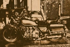 Lithographic Goldwing by CarrieAnnTaylor