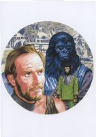 PLANET OF THE APES by Herbarianband