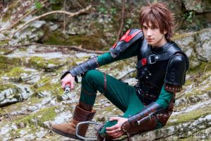 Hiccup Horrendous Haddock III Cosplay - HTTYD2 by lowlightneon