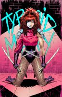 Typhoid Mary color by MATT-A-NASHI