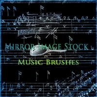 Music Brushes by mirrorimagestock