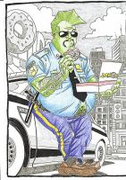 Fat Savage Dragon by caiooliveira