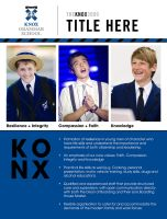 Knox Grammar Advert Design by Cixxy