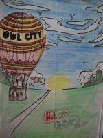 owl city - hot air baloon by archie-91