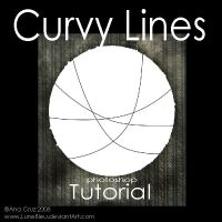 Curvy lines - Tutorial by Lune-Tutorials